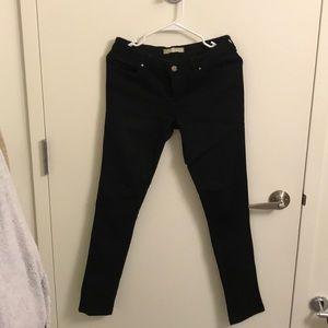 Zara Black Skinny Jeans Sz 6